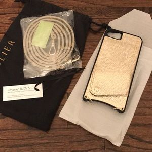 Bandolier phonecase gold brand new